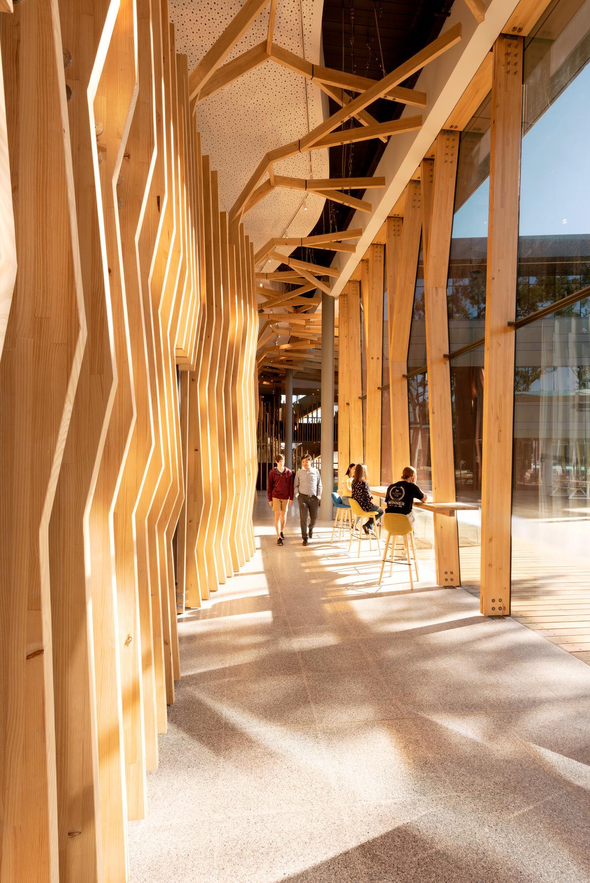 The Orygen and OYH Parkville building designed by Billard Leece Partnership (BLP)