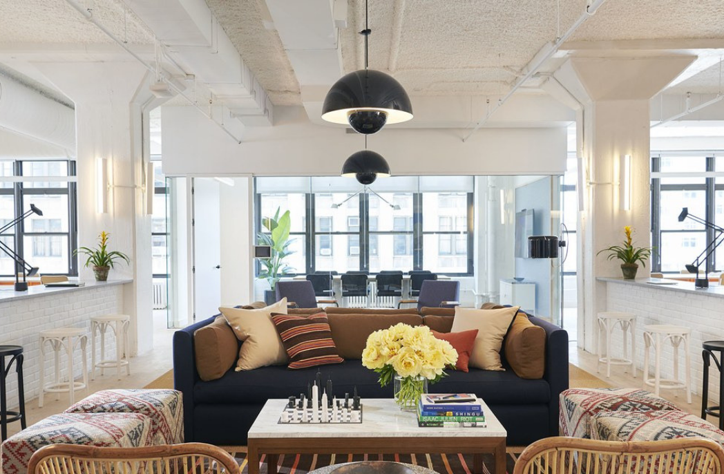 WeWork design Oscar offices