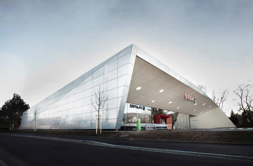 Spar supermarket by Love Architects