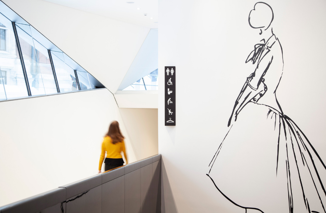 V&A wayfinding by dn&co