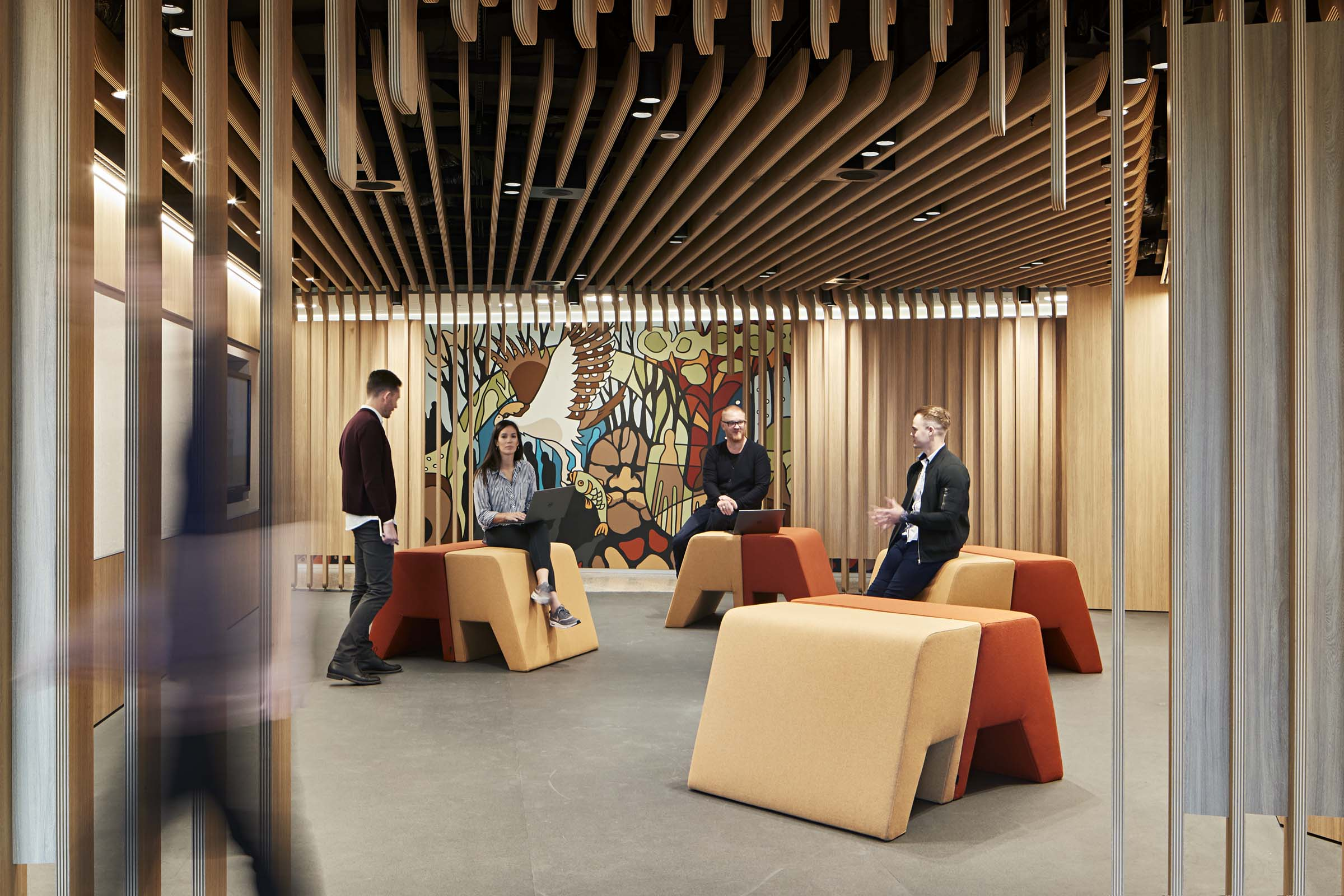 Woodside by Cox and Unispace