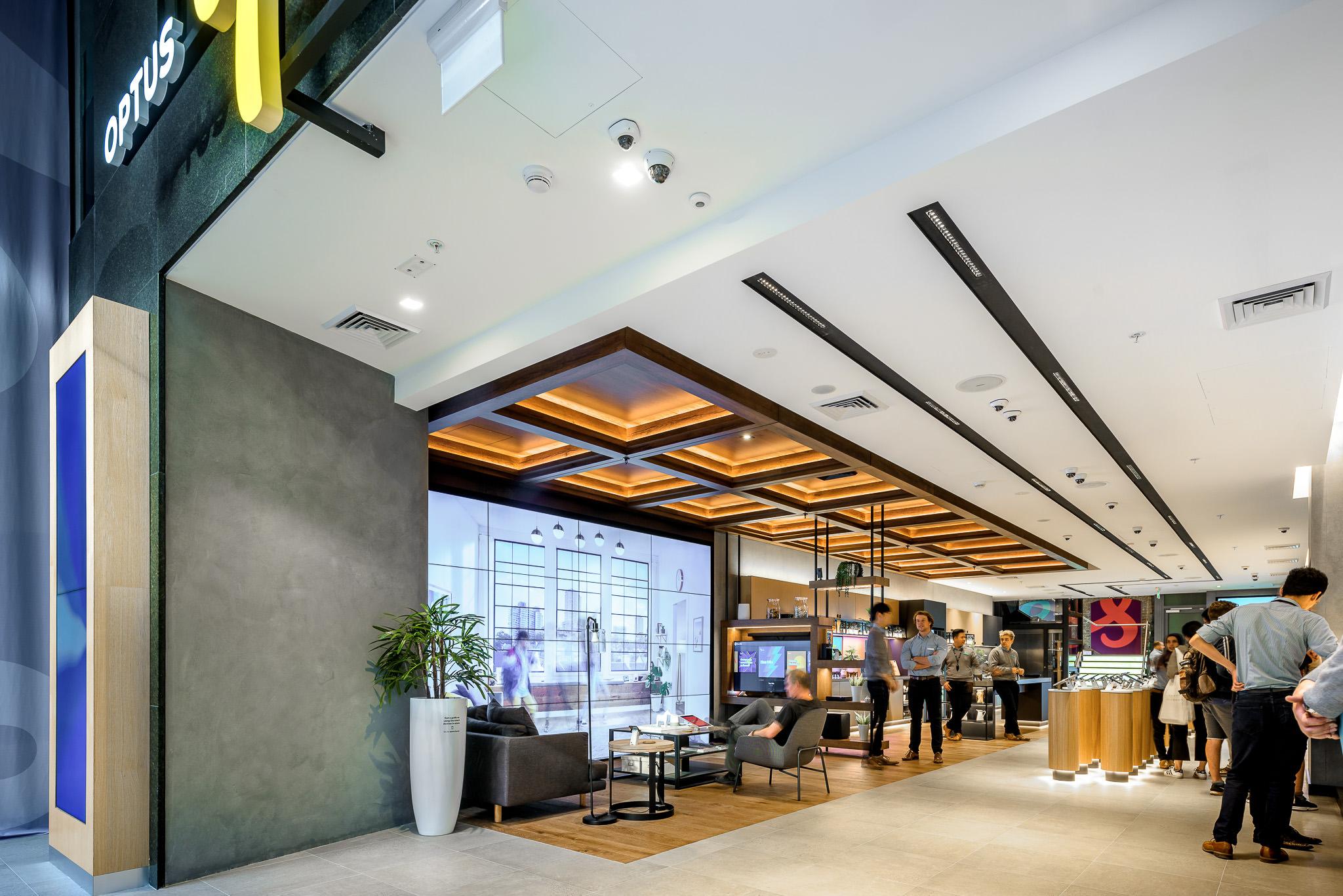 Optus Store, George Street Sydney