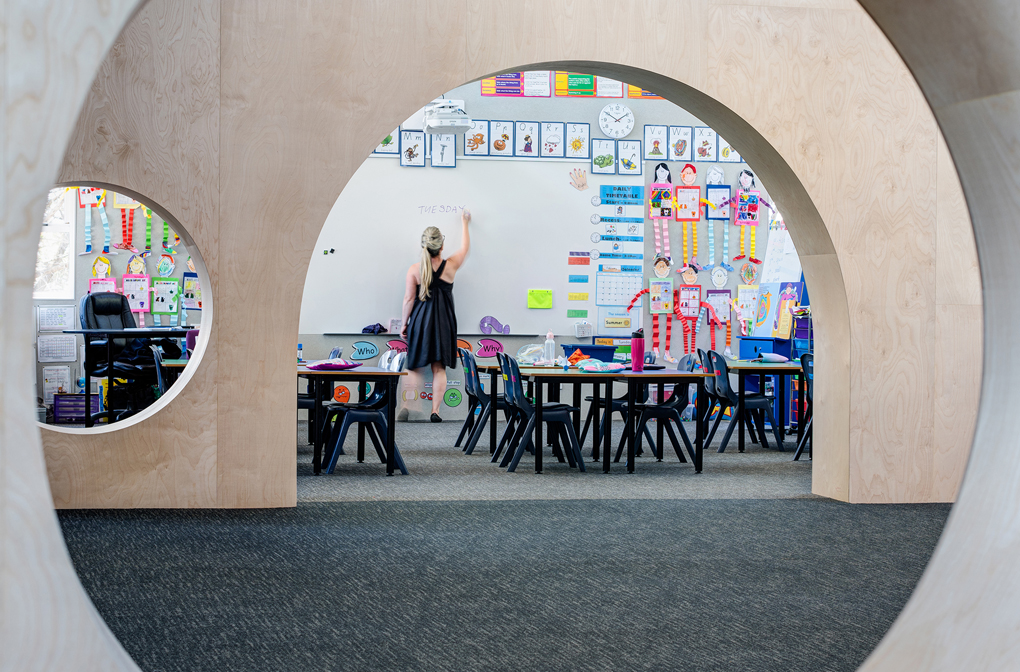 Frankston Primary school by Chaulk Studio