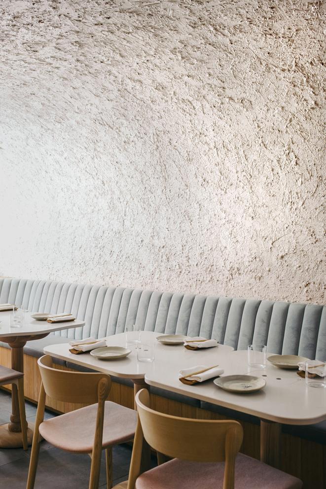 Sara restaurant by Odami