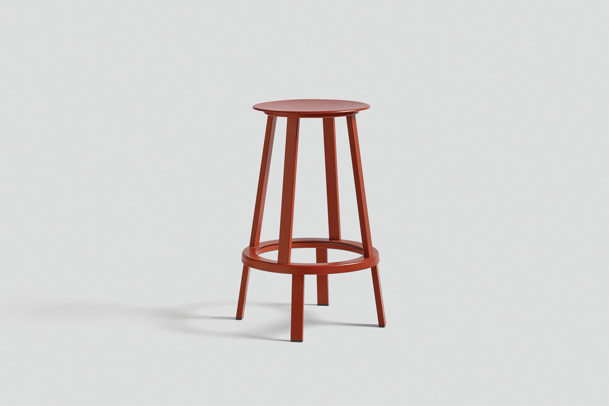 WH-Revolver-Stool-H65-red